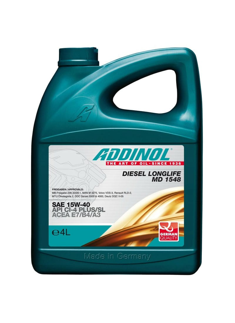 Addinol Diesel Longlife MD 1548 SAE 15W-40 (4 літри)